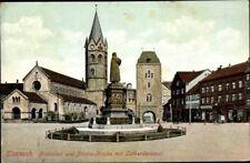 Ak Lutherstadt Eisenach in Thüringen, Partie an der Nikolaikirche,... - 2046276