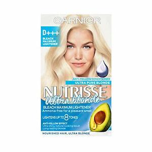 HAIR Color Blonde ULTRA Permanent, Purple Conditioner Nutrisse Style Garnier NEW