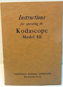 PLAQUETTE de présentation et d'emploi du projecteur KODASCOPE Modèle EE