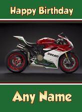 Car//Van//Motorbike//Lorry//Driving Personalised Number Plate Spoof Birthday Card