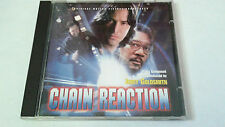 """ORIGINAL SOUNDTRACK """"CHAIN REACTION"""" CD 8 TRACK JERRY GOLDSMITH BSO OST"""