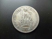 1928 ONE SHILLING COIN GEORGE 6TH IN FAIR CIRCULATED CONDITION, 50% SILVER.