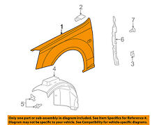 Cadillac GM OEM 05-07 STS-Front Fender Right 19120664