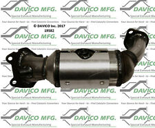 Catalytic Converter-Exact-Fit - Manifold Front Left Davico Exc CA 19582