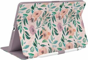 Speck Products Balance Folio Print iPad (2019/2020) Case and Stand, Roses/Washed