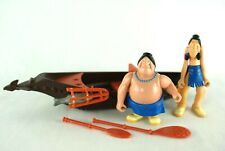 Famosa Disney Heroes Peter Pan Indian figures with boat 00's