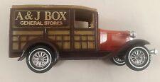 MATCHBOX MODELS OF YESTERYEAR Y 21 FORD MODEL A A & J Box magasins généraux