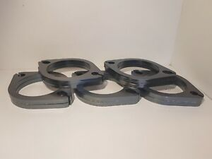 """FREE GASKETS - 10x 3"""" inch exhaust flanges 76MM 2 bolt Value Buy"""