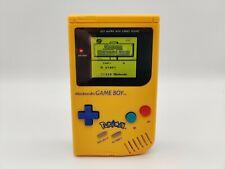 Game Boy DMG-01 | IPS Backlight Screen Mod | New Shell | 8 Colour modes