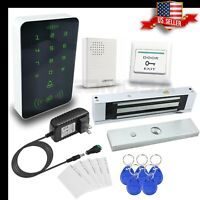 Access Control KIT  Electric Door Lock Magnetic Access ID Card Password,  USA