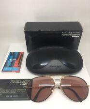 7c4388c82cff New Vintage Porsche Design Aviator Sunglasses Carrera M. 5651 C. Gold    Tortoise