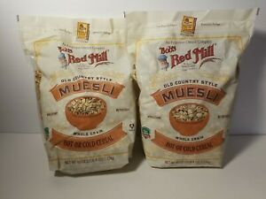 2-Pk Bob's Red Mill Old Country Style Muesli, Hot or Cold Cereal, 40 Oz