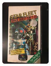 STARFLEET / STAR FLEET: SPACE QUEST FOR F - 01 -1987 - PAL VHS VIDEO CASSETTE