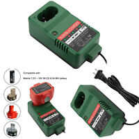 7.2-18V Battery Charger Adapter for Makita/Hitachi Ni-CD Ni-MH Battery Accessory