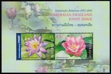 2002 $1.45 AUSTRALIA-THAILAND JOINT ISSUE MINIATURE SHEET MINT UNHINGED