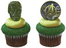 New Hulk and Avengers Cupcake Rings One Dozen