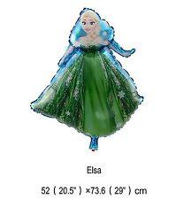 30`` 74CM Disney Frozen Elsa Girls Birthday Party Foil Helium Air Balloon Deco