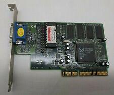 New listing Diamond SpeedStar A55 S3Trio8Mb Agp 28020050-001 Graphics Card -Tested Vintage