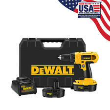 DeWalt (18V) 1/2 Inch Electric Cordless Portable Compact Cordless Drill Kit NEW