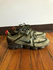 Nike Air VaporMax 2019 Olive Flak Men's Running Shoes Size 12.5