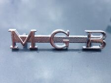 MGB BOOT BADGE ORIGINAL MGB PART NEW OLD STOCK  J.FRAY PART