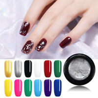 5ml Nail Painting UV Gel Polish Pure Tips Glitter Carving Gel Decor UR SUGAR