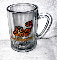 DISNEY WDW WALT DISNEY WORLD TIGGER BEER MUG STYLE SHOT GLASS NEW UNUSED