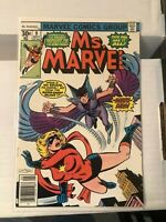 Ms. Marvel (1st Series) #9 1st Appearance of Deathbird!!!!