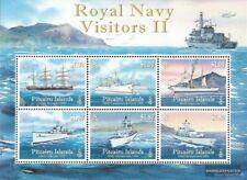 Pitcairn Block56 (kompl.Ausg.) postfrisch 2010 Schiffe der Royal Navy