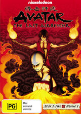 Avatar The Last Airbender: Book 3 Fire - Volume 3 * NEW DVD *