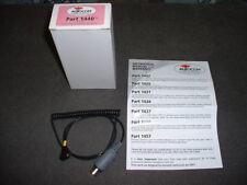 Autocom # 1440,  Coiled, grey, 5-pin, Interface Lead for Motorola  Radio's