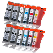 12 Ink Cartridges for Canon Pixma iP3600 iP4700 MP550 MP620 MP640 MP990 MX870
