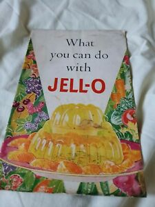 What  you can do with JELLO Brochure Vintage Recipe Book