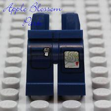 NEW Lego Minifig Dark BLUE POCKET JEAN LEGS -Police Minifigure Pants Lower w/Map