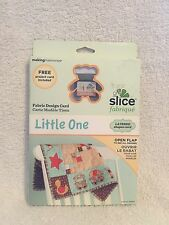 Slice Fabrique  Card Making Memories Little One Baby Shapes