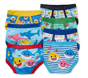 Pink Fong Baby Shark Underwear Underpants Boys 7 Briefs 2T/3T Toddler