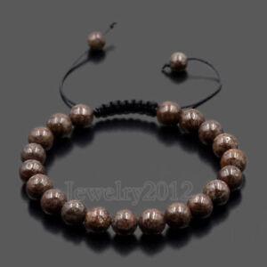 Men's Women's Beads Turquoise Howlite Agate Macrame Weaving Couples Bracelets