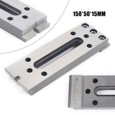 New Stainless Steel Wire Edm Fixture Tool Board Jig Holder Clamp 150x50x15mm Usa