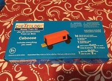 BRAND NEW Creatology Model Train Kit Wooden Craft Caboose Car FACTORY SEALED