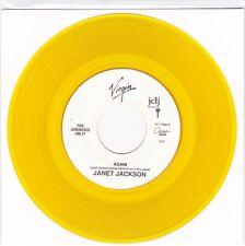 Jackson, Janet - Again / Again [Piano Vocal] 45 Rpm Virgin Yellow Unplayed 1993