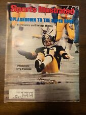 Sports Illustrated - Terry Bradshaw Steelers - January 15, 1979 -(M13A)