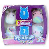 Squishmallow Squishville Rainbow Dream Squad BNIB Stuffed Animal Tie Dye Plush