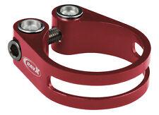 XRD CNC seatpost clamp Ti bolt - 34.9mm - Red