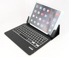Ultra Slim iPad Air 2 Folio ABS Wireless Bluetooth Keyboard Case Station Black