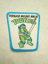 Vintage Teenage Mutant Ninja Turtles Leonardo Iron On Jacket Vest Patch