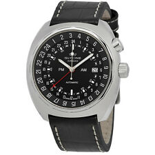 Glycine Airman SST GMT Automatic Black Dial Mens Watch 3903.199.LBN9