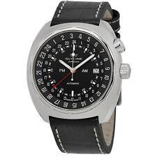 Glycine Airman SST GMT Automatic Black Dial Mens Watch 3903.199.LBN9