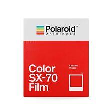 Polaroid SX-70 Sofortbild-Farbfim mit weißem Rahmen - 8 Aufnahmen (004676)