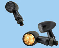SMD Universal LED Blinker Rücklicht Bremslicht Jack schwarz getönt 3 in 1