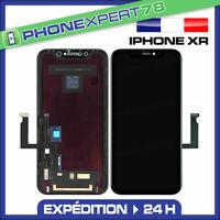 ECRAN LCD RETINA VITRE TACTILE ASSEMBLÉ SUR CHASSIS POUR IPHONE XR